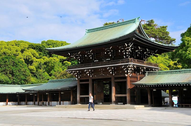 Meiji Jingu gate