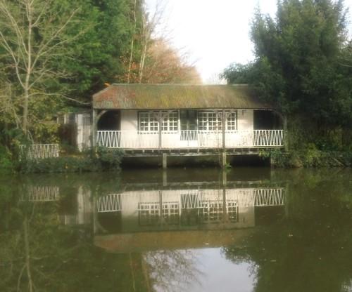 If that's a cricket pavilion,.......