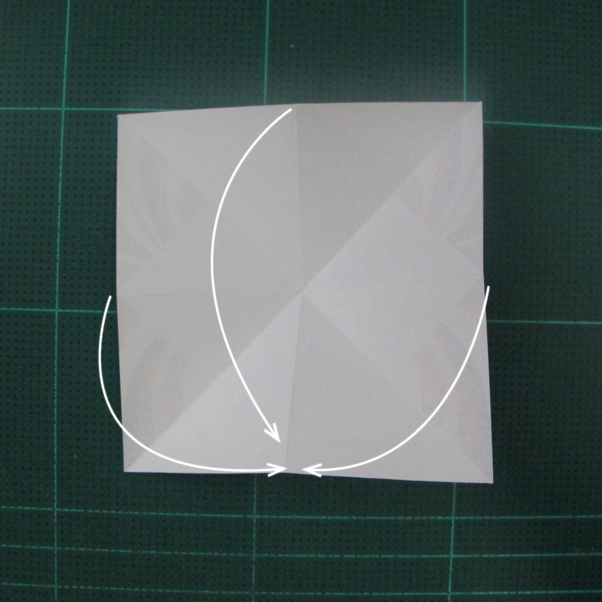การพับกระดาษเป็นผีเสื้อแบบง่ายๆ (Easy Origami Butterfly) 004