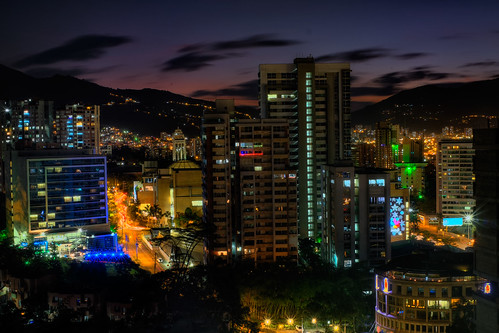 longexposure sunset night lights colombia neon cityscape medellin medellín antioquia elpoblado