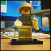 First purchase of series 13 and this is what I pulled! Unlucky. #lego #minifigures