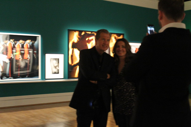 Mario Testino in your face vogue opening party berlin lisforlois