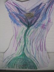 Picture of flower done by Anna