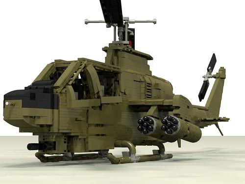 AH-1G Huey Cobra front left