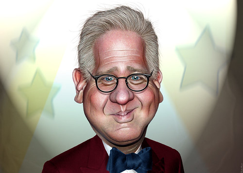 Glenn Beck - Caricature