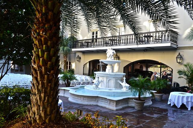 Maison Dupuy Hotel - courtyard