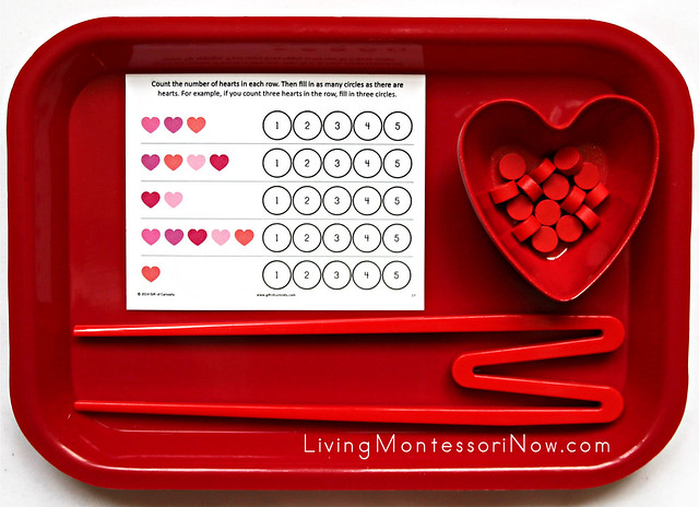 Heart Counting and Fine-Motor Activity