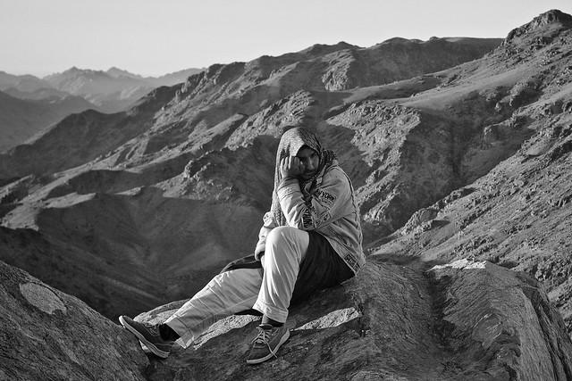 Bedouin at mount Sinai