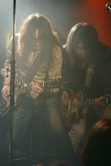 Earlysnake live at Outbreak, Tokyo, 17 Jan 2015. 402