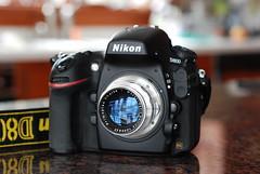 Meyer-Optik Görlitz Primoplan 58mm f1.9 on Nikon D800