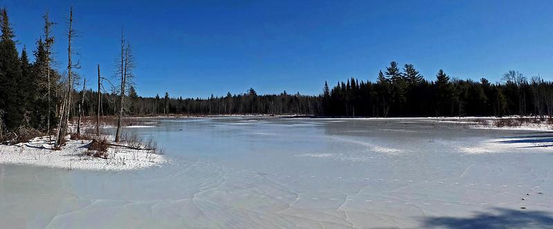 Lagrange Trail Pond 1-21-15