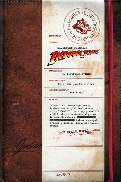 book Zaginiony dziennik Indiana Jones 1