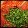 #CucinaDelloZio - #Homemade #Eggplant & #RedLentils - toss in parsley