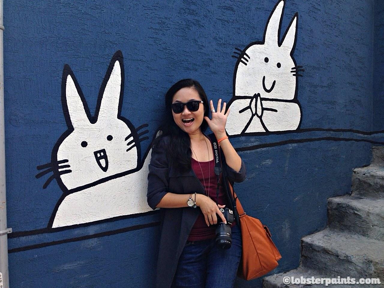 3 Oct 2014: Ihwa Mural Village 이화벽화마을 | Seoul, South Korea