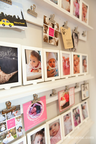 DIY Photo Gallery Shelves | Brooklyn Limestone