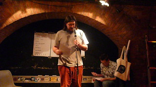 Simon Tomaz - Poetry Slam Wien - textstrom Poetry Slam
