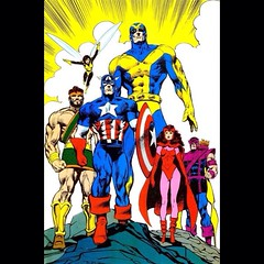 The mighty #Avengers! #Comics