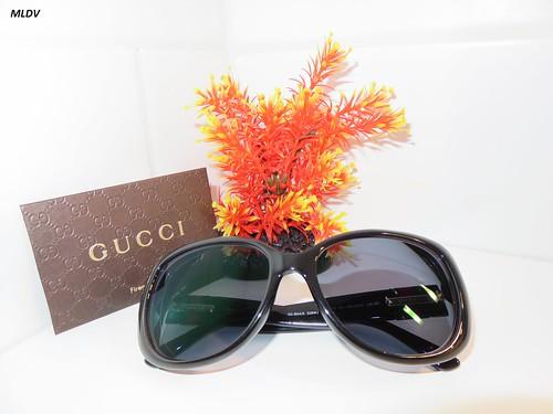 Gucci à verres polarisés