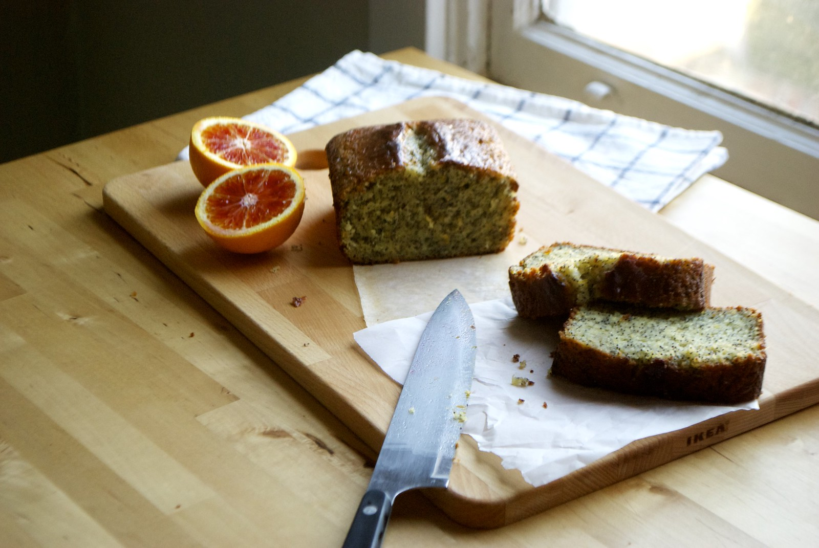 Blood Orange Poppy Seed Loaf | Kitchen in the Hills