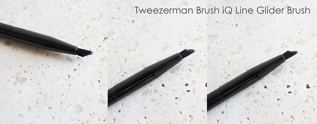 Tweezerman Brush iQ Line Glider brush review