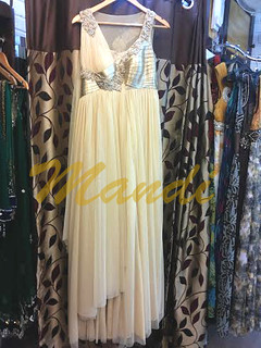 cream color gown for slim girls and women call-9891909195