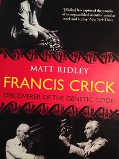 Matt Ridley's biography of Francis Crick