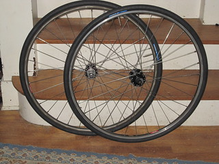 A new wheelset for the midlifecrisismobile