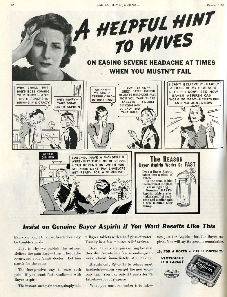 1937 Bayer Aspirin