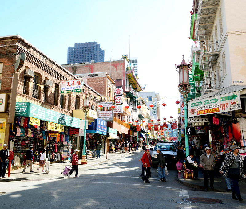 Busy Streets of Chinatown