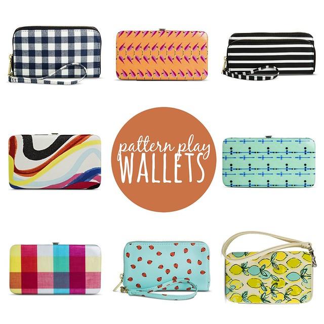 pattern play wallets