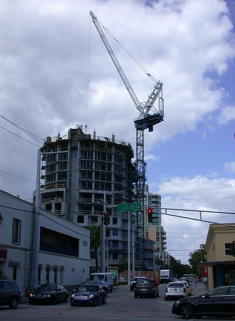 Construction, downtown Ft. Lauderdale
