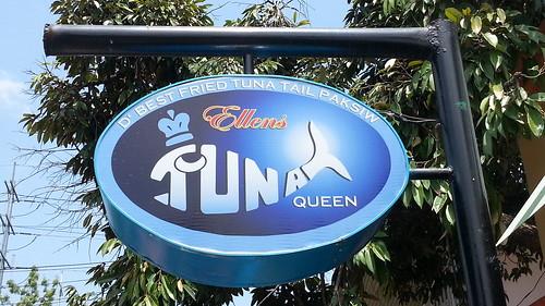 Ellen's Tuna Queen signage 20150320_125024