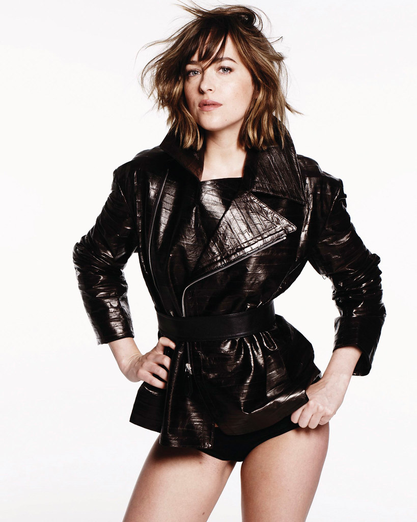 Дакота Джонсон — Фотосессия для «Elle» 2015 – 11