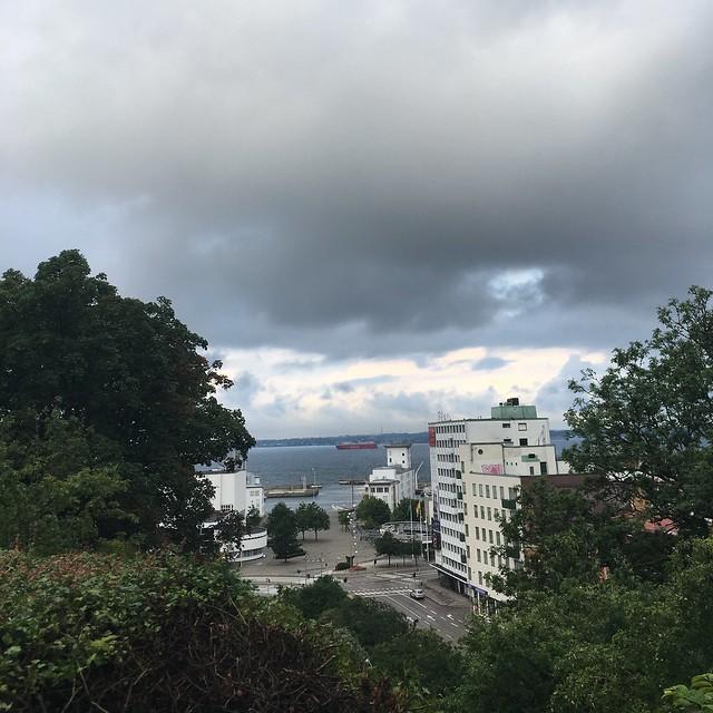 morning view, helsingborg