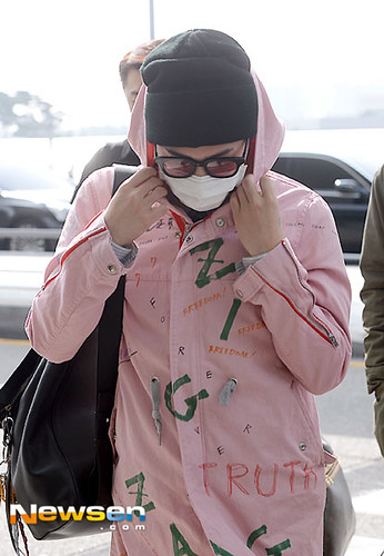 Big Bang - Incheon Airport - 24sep2015 - Newsen - 08