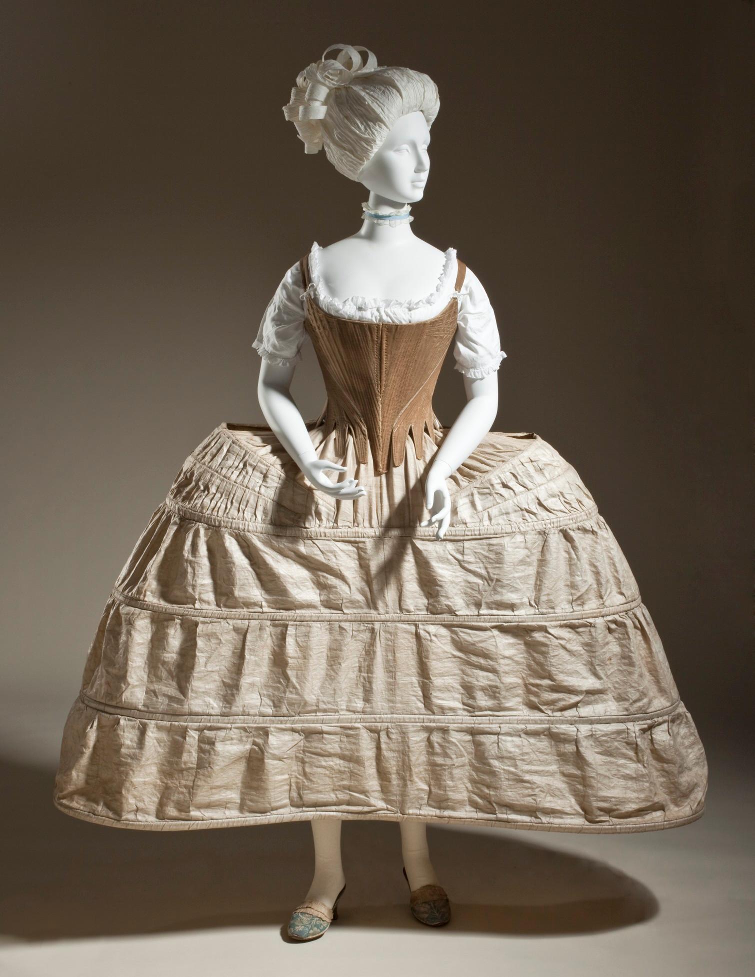 Panniers 1780. Credit LACMA