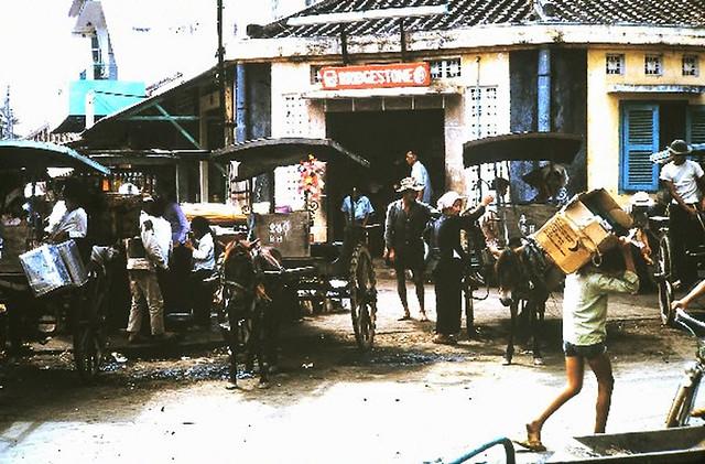 Bến xe ngựa Biên Hòa thập niên 1960