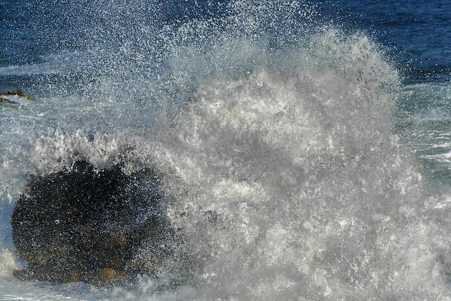 Crashing Waves (Bar Harbor, Maine)