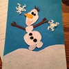 And Olaf! #quietbook