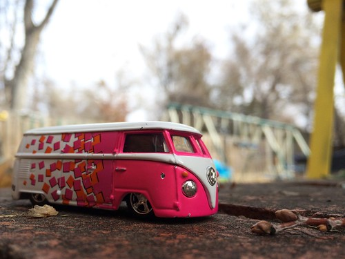 100% Hot Wheels VW Microbus
