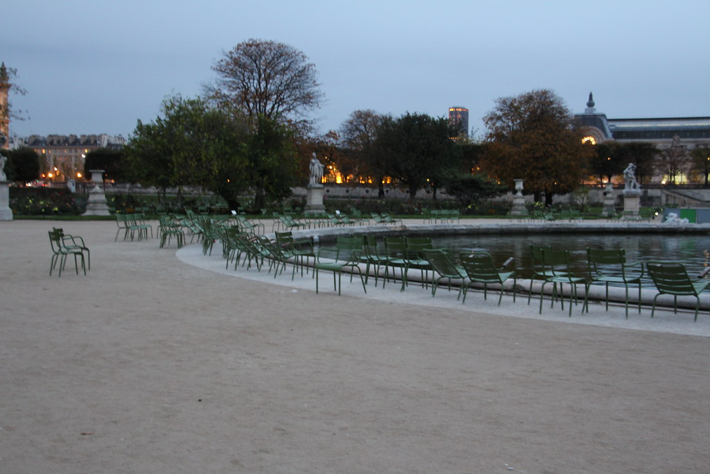 Chairs in the Tuileries
