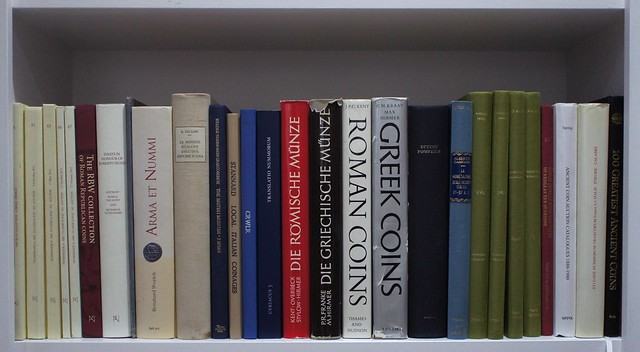 Library of Roman Republican Numismatics and History, RBW, Russo, Woytek, Kraay Kent Hirmer, Campana, d'Ailly, Spring, Belloni and other large quarto format books