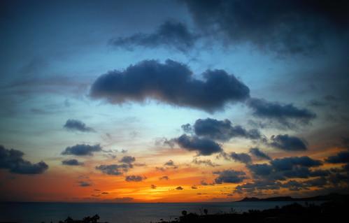 sunset sky clouds zonsondergang caribbean bonaire antilles netherlandsantilles kralendijk dutchcaribbean caribbeannetherlands caribischnederland