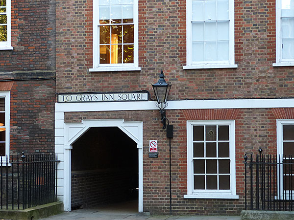 to gray's inn square