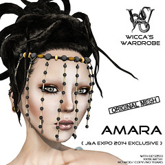 Wicca\'s Wardrobe - Amara Headpiece for J&A 2014 Vendor2