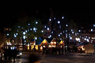 Marché de Noël sur la Place du Corbeau