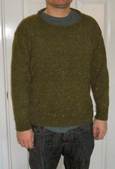 olive green jumper