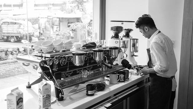 臺北 松山–夢想起飛 拉花天團–Milkglider coffee(Mgcafe')