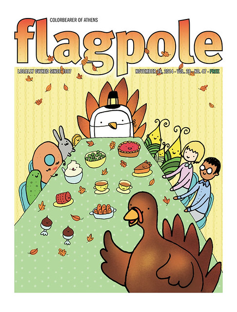 Flagpole November 2014 Tofu Baby Cover for Thanksgiving