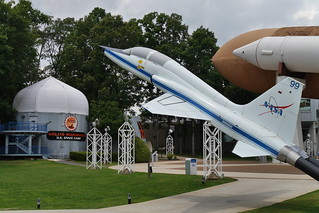 T-38 vor U.S. Space Camp